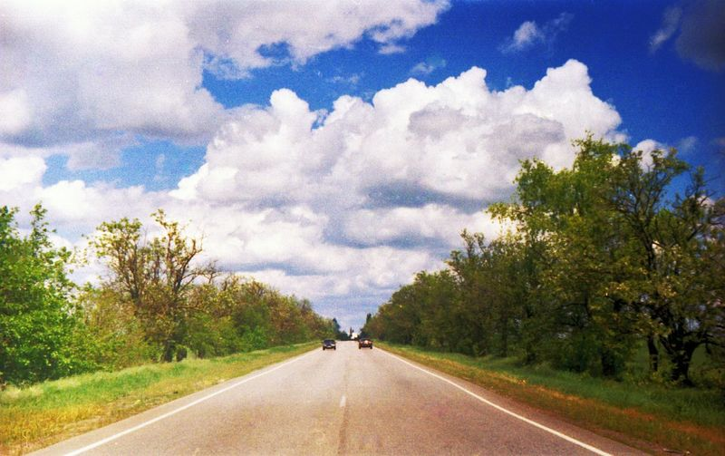 Roadtrip Road Trip Scan Cameraroll Beautiful Day Sky Odessa The Essence Of Summer Carshot Notabestscan Studying Hard Newwallpaper Soviet Camera Sovietcamera First Steps In Photography