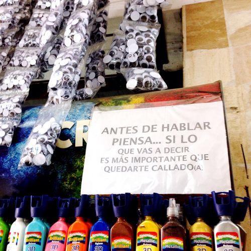 Filosofía gamarrina Peruvian Peru Gamarra Shop Réflexion Material Tienda Quotes Handmade Market Eyes