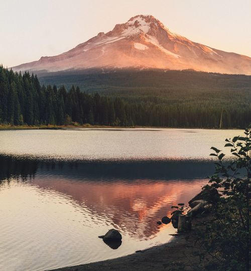 Camping Nature Photography PNWonderland Adventure Oregonexplored Beautiful Destinations Hiking Oregon Water Tree Reflection Mountain Scenics - Nature Beauty In Nature Nature Landscape Tranquil Scene Travel Destinations Outdoors Forest Tranquility Environment