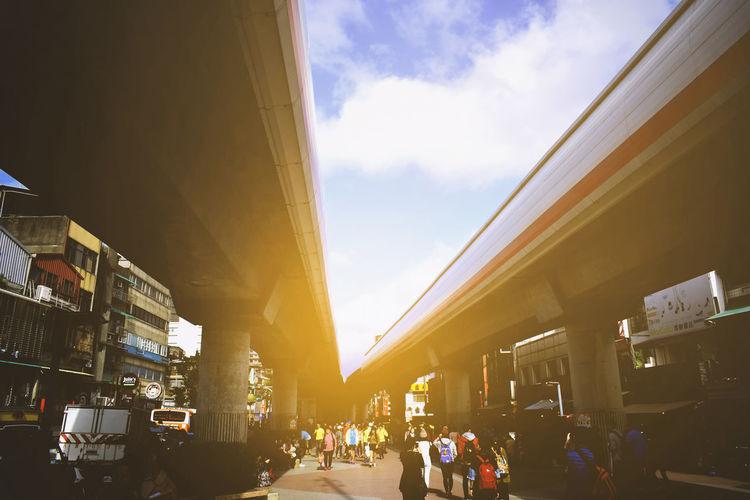 MRT lines Built