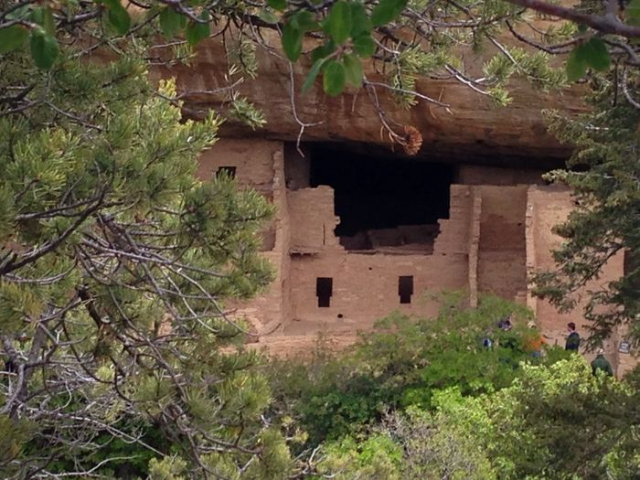 Mesa Verde National Park Colorado Ancestral Pueblo South West Ruins Southwest