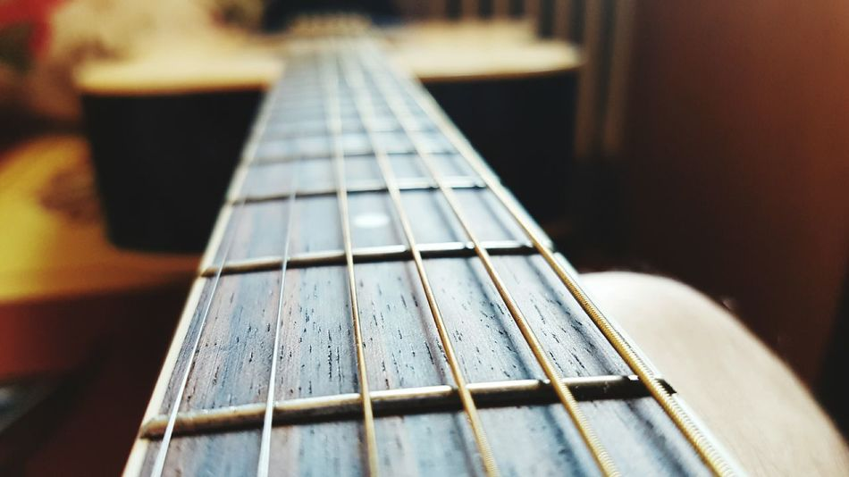 My guitar in macro Musical Instrument String Musical Instrument Music Fretboard Arts Culture And Entertainment String Instrument Guitar No People Close-up Woodwind Instrument Musical Equipment Indoors  Skill  Day