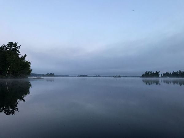 6am Sunrise Kayak Lake Rosseau Muskoka Cottage