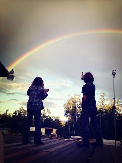 Cheers to the rainbow. LiveOn