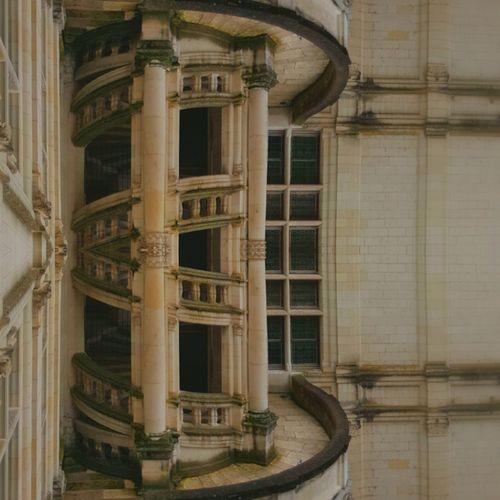 Chateaux Escalier En Colimaçon Chambord Structures