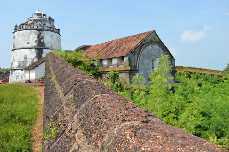 lighthouse goa love Built Structure Building Exterior Architecture No People Sky Travel DestinationsHistory Travel Nature Diffrent Shades Of Gr Beauty In Nature Day Outdoors