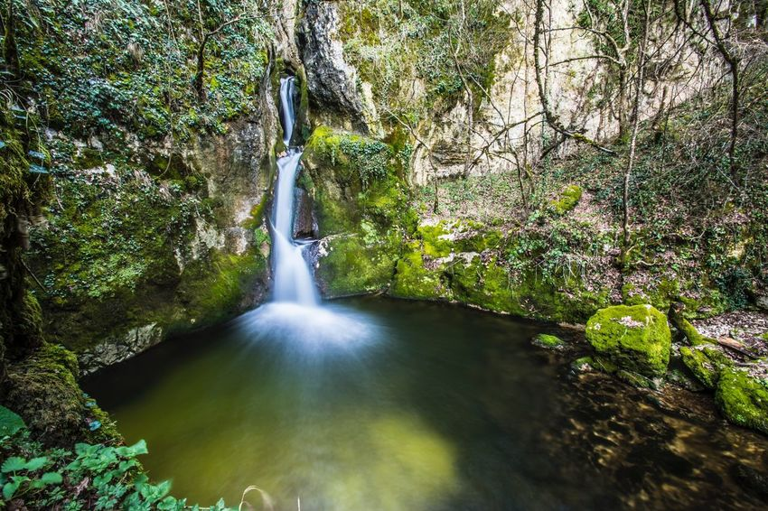 Nature Waterfall Beauty In Nature Scenics Water Environment Idyllic Rock - Object Tree Natural Disaster Landscape Social Issues Tranquility Freshness Tranquil Scene Tropical Climate No People Nature Reserve Outdoors