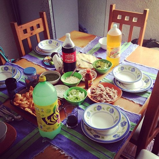 Comida 15 de septiembre !!!!! Viva México ?? Mexico Pozole Comida Instagood