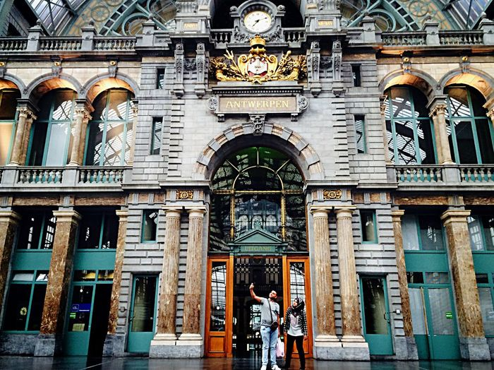 Selfie ✌ Train Station Centraal Station Peolpe PhonePhotography Architecture Beautiful Beauty Insider Antwerpen Belgium