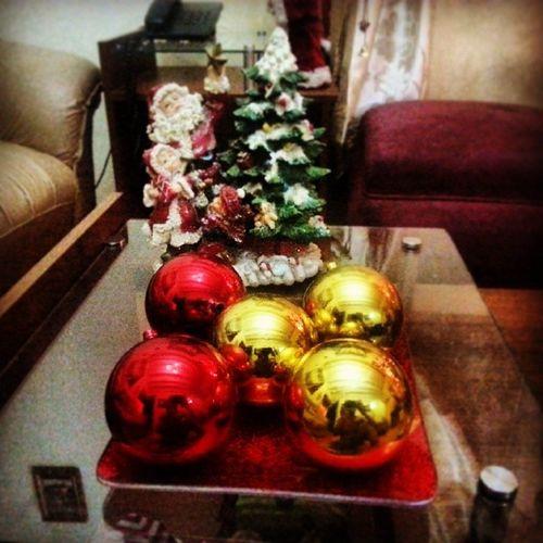 Morexmass Tree Balls Papanoel Gold Red Instaxmass