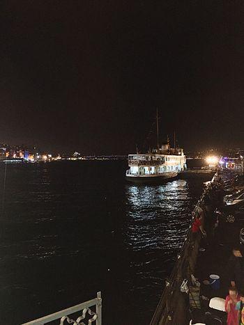Istanbul Galatakoprusu GalataBridge Ferry Bosphorus