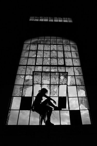 This one too... FeelingsFeeling InspiredWoman Silhouette Silhouettes Women Who Inspire You Broken Glass Beautiful Girl Power Blackandwhite Black And White Black And White Photography Surreal Dreamlike Lover Partner Partnersingrime Body Curves  Body Language