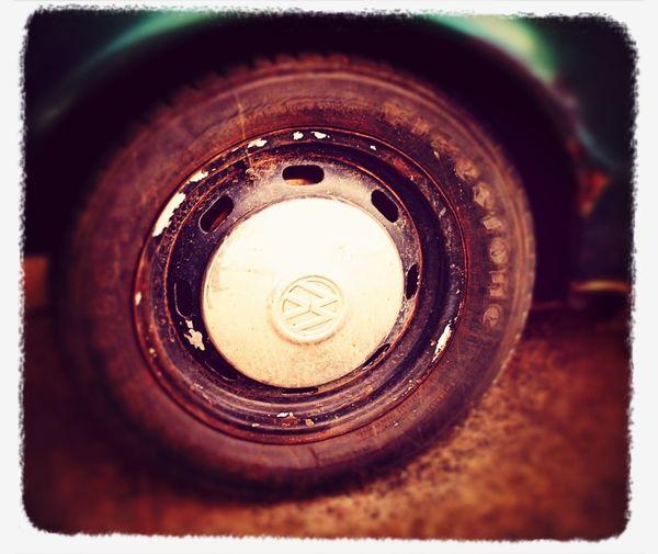 Coche Viejo Vw Wheel Cup Tapon