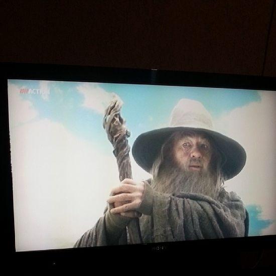 O Hobbit - A jornada inesperada .... finalmente um filme bom... \○/ Telecine Filmes Otimo Jaassisti