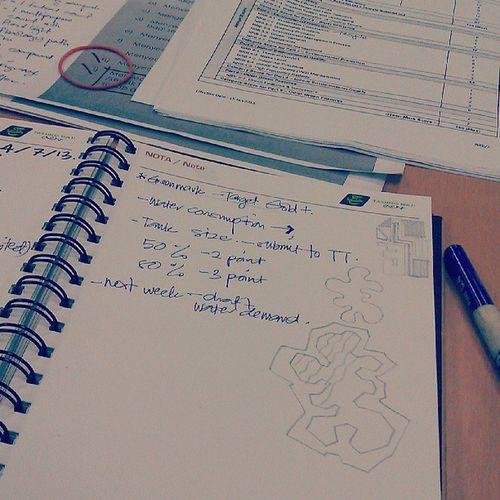 Thursday routine..attending ccm..