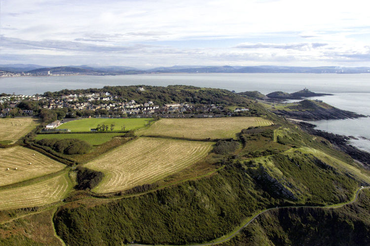 Drone  Langland Bay Aerial Aerial View Agriculture Beauty In Nature Cloud - Sky Day Dronephotography Field Grass Horizon Over Land Landscape Nature No People Outdoors Patchwork Landscape Rural Scene Scenics Sea Sky Tranquil Scene Tranquility Tree Water