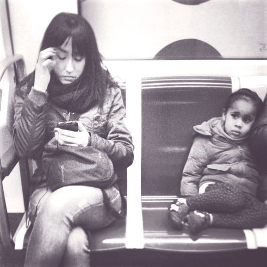 Streetphotography Kids Subway Metro Blackandwhite Black And White Taking Photos Girl Barcelona Black & White Streetphoto_bw