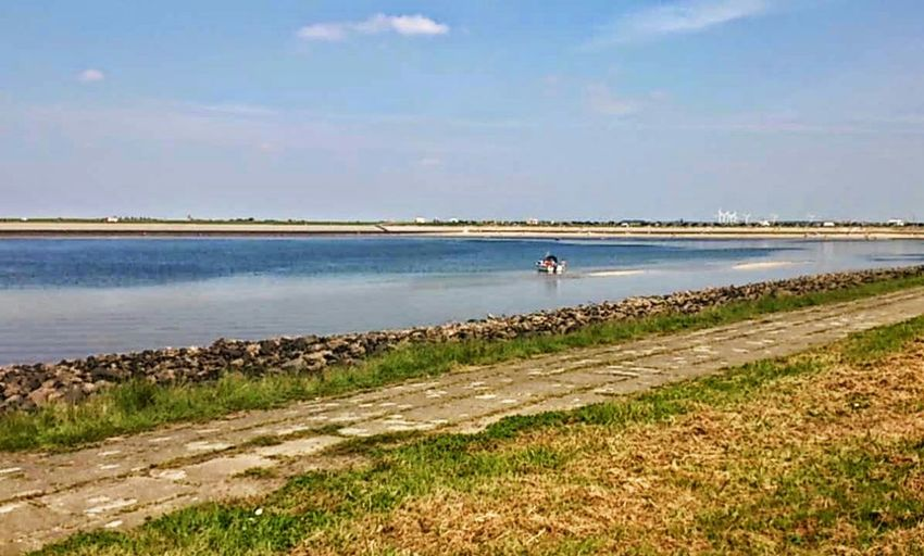 Beach Oesterdam Zeeland  Nederland Netherlands Sun Blue Sky Blue Sea Tourism