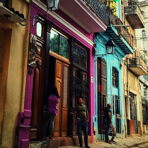 Streetphotography Cuba Cuba Collection Havana Habana Old Old Buildings Colours