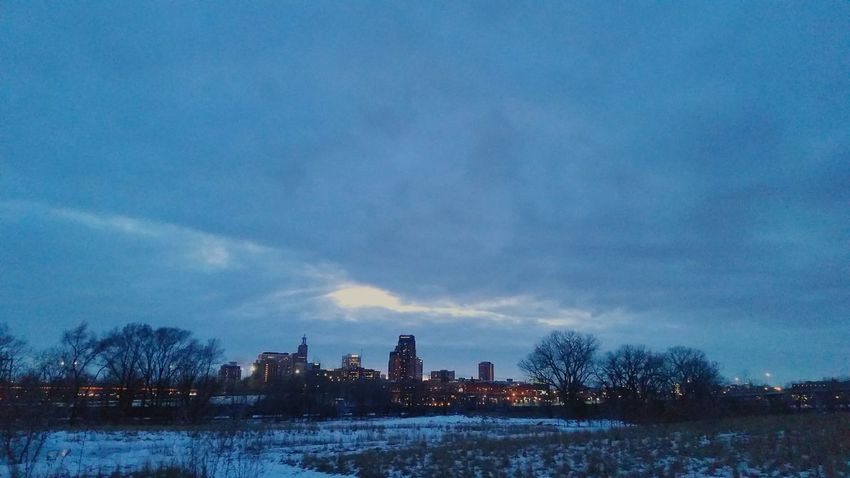 St Paul Mn From My Point Of View Minnesota Beautiful World Winter In Mn Clouds And Sky Skyporn Cloud Porn Sky And Clouds Winter Skyline St. Paul In Winter Winter 2016 Sky_collection