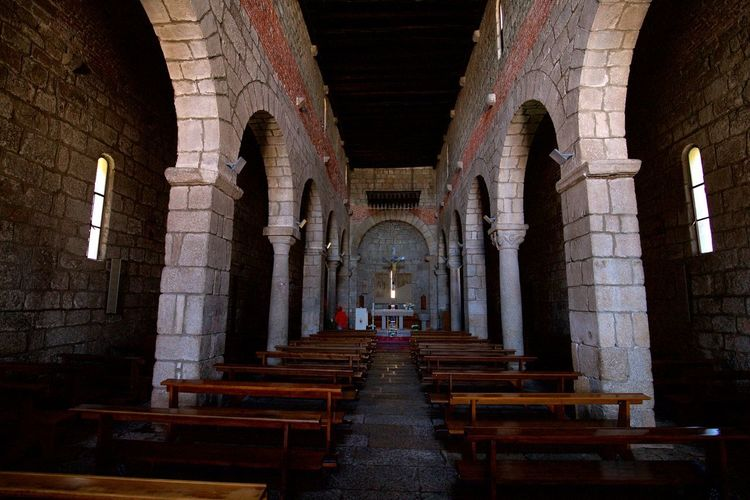 Aisle Altar Arch Architectural Column Architecture Belief Building Built Structure Ceiling Day History Indoors  No People Old Place Of Worship Religion Spirituality The Past
