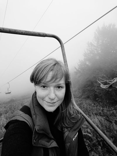 Jorney In The Fog Foggy Day