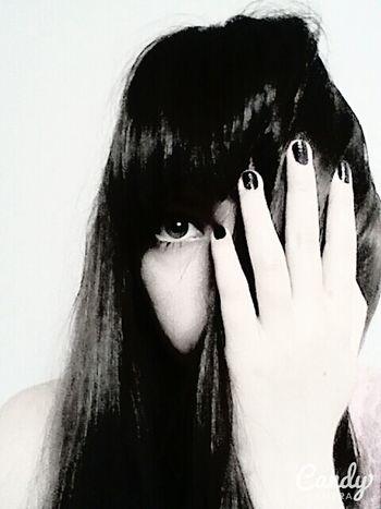 That's Me I Am Eye Girl Ulan-Ude My Face People Russia I Am Blackandwhite
