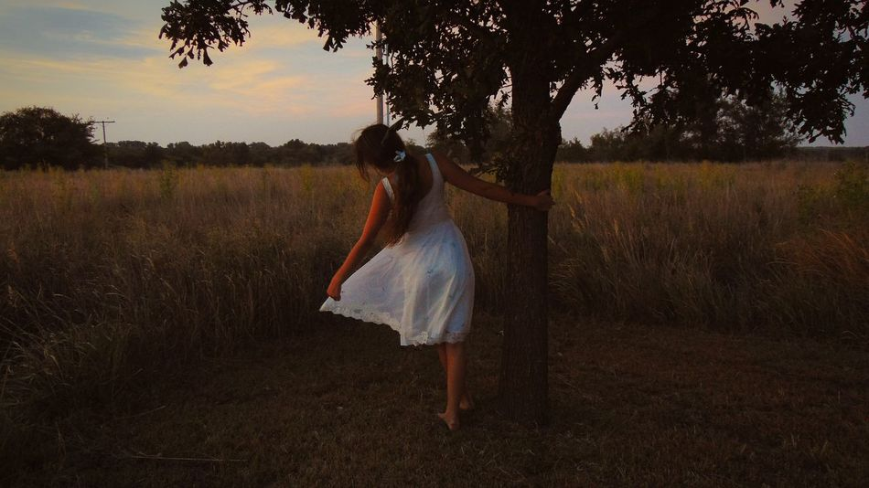 storybook dreams Kansas Vintage Midsummer Summertime Vintage Style Prarie Prariegrass Midwesterner Styling Daydreaming Daydream Summer Memories 🌄 Sunset One Person Adult Motion People One Woman Only Adults Only Agriculture Dancing Only Women Summer Full Length Beauty Nature Young Adult Standing Rural Scene Women