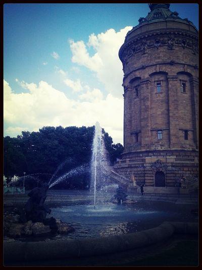 heute das super schöne Wetter genoßen in Mannheim- war nur perfekt ♥