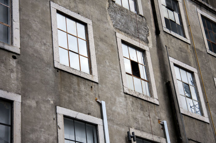 Architecture Building Exterior Built Structure Conformity Day Full Frame In A Row No People Outdoors Repetition Weathered Window
