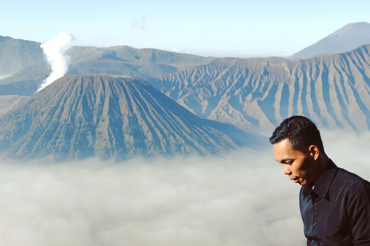 I really enjoy the air and the beautiful mount bromo