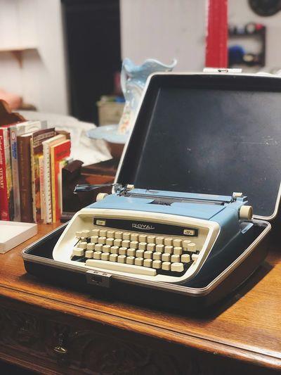 Retro Technology Typewriter Equipment Antique Keyboard