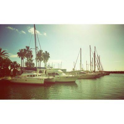 Photography Instagram SPAIN Estepona Igwales Coast Spanish Boat Marina