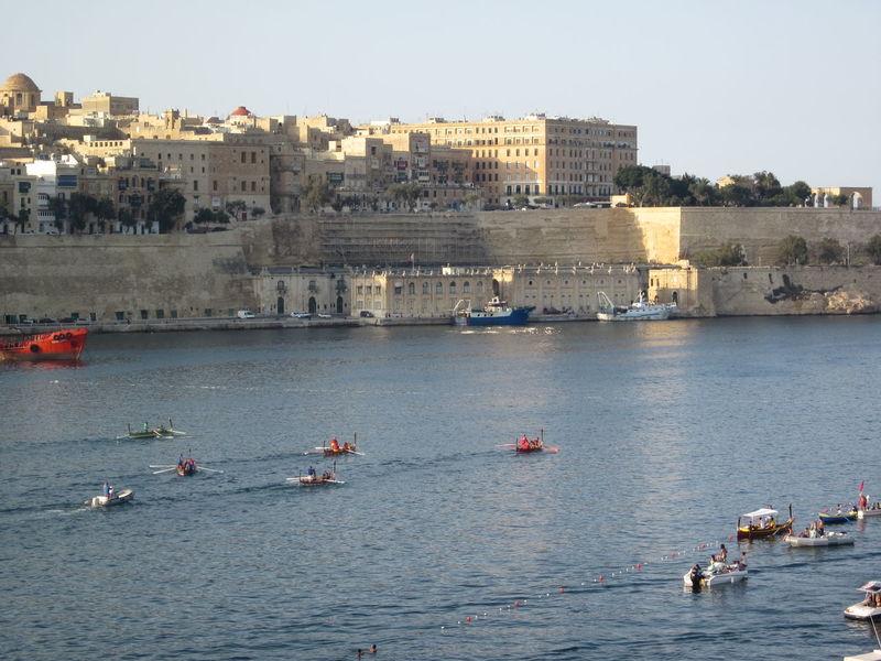 valletta, ruder regatta Architecture Grand Harbour Malta Outdoors Regatta Ruder Ruder Regatta  Sailing Valletta Water