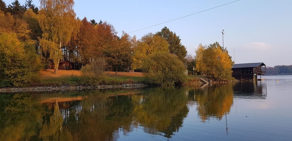 No People Outdoor Photography Tree Water Reflection Sky Reflection Lake Autumn Standing Water Autumn Collection