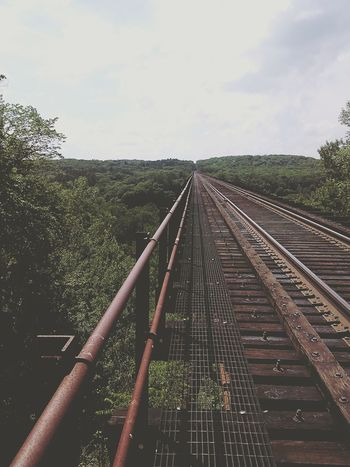 Nature Photography Taking Photos Bridge River Train Tracks Beauty In Nature Beautiful Favorite Place First Eyeem Photo