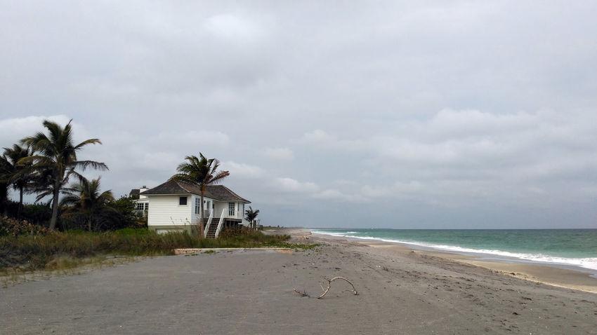 Beach Beach House Caribbean Desert Island Escape No People Outdoors Palm Tree Scenics Sea Water