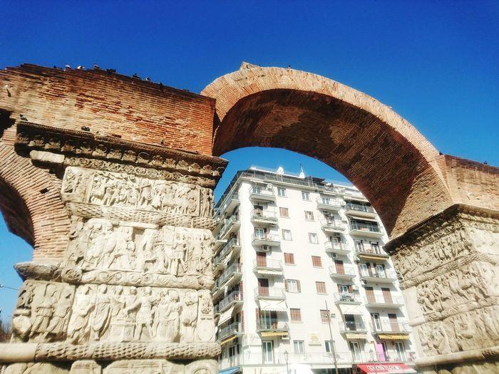 Galatians arch