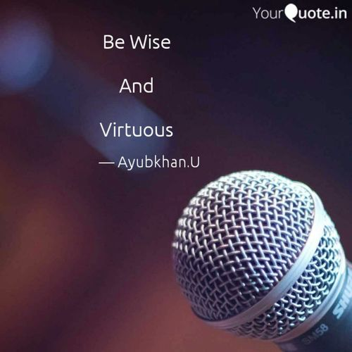 Virtuous Wise