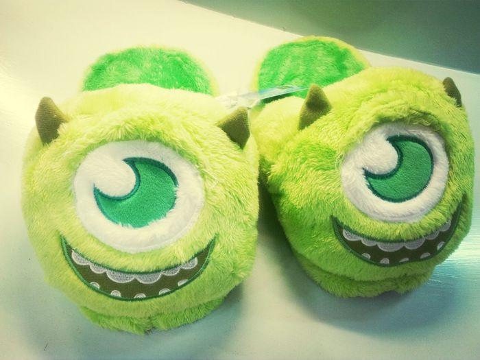 So cute!!! 大眼仔 Iloveit Monsters Monsters University