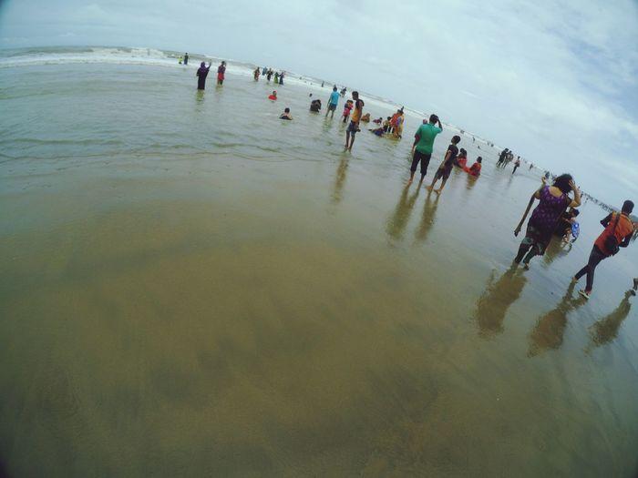 Bending the Horizon Coxsbazar sea beach Bangladesh