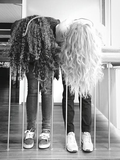 Let Your Hair Down Mission Hairstyle Fashion Photography Black & White Hair Style Beauty Yolo Famous Rapunzel Haarpracht Schwarzweiß