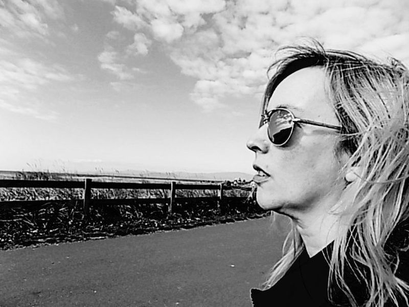 Sea Headshot Person Leisure Activity Lifestyles Sunglasses Portrait Casual Clothing Woman Power Woman Blackandwhite Photography EyeEm Gallery Eye Em Best Shots -Black +White Long Goodbye This Is My Skin