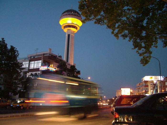 Ankara Atakule Geceatakule Baskent Architecture City Lights Tower Capital Cities  Capital