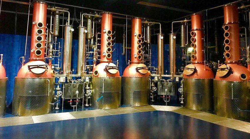 Metal Indoors  Technology No People Store Distillery Drink Schnaps Light Kirsch Cham Indoors  Etterkirsch