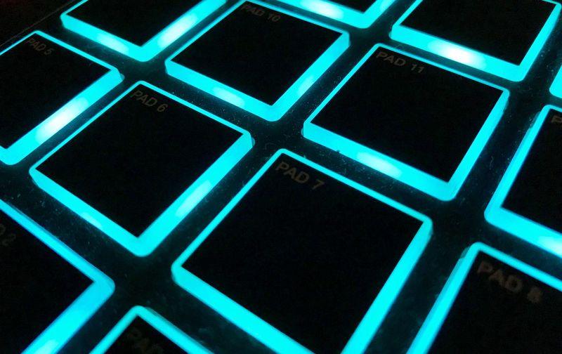 Glowing Squares
