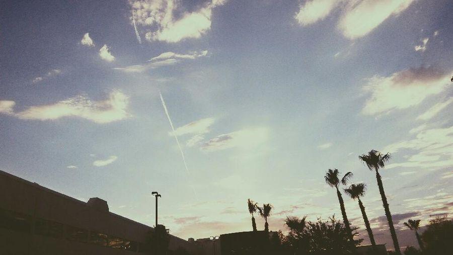 The sky in Las Vegas. Wunderbar! Clouds And Sky Traveling In USA Las Vegas ♥ Gute Reise...