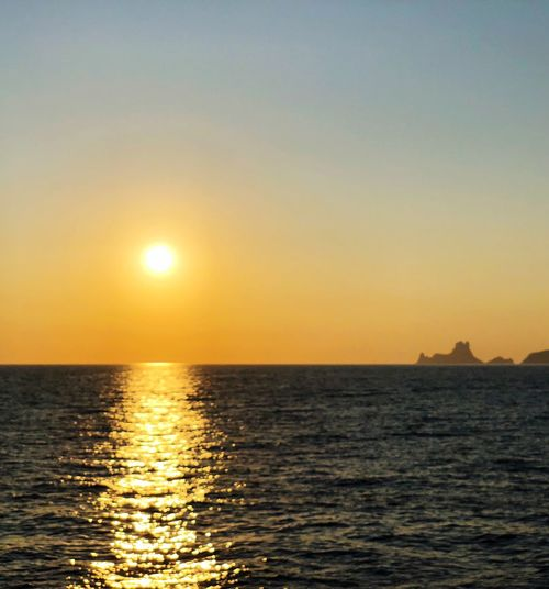 Sunset Water Sky Sea Beauty In Nature Scenics - Nature Sun Horizon Idyllic Nature