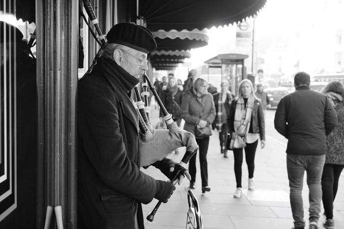 PiperMaster Men Lifestyles Real People Adults Only Adult Only Men People Day Outdoors London England United Kingdom Piper Harrods Streetphotography Photography Music EyeEmNewHere EyeEmNewHere Welcome To Black The Street Photographer The Street Photographer - 2017 EyeEm Awards