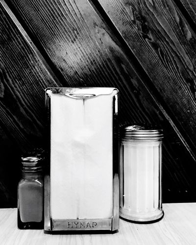 Still Life Table Indoors  No People Close-up Day Diner Cafe Minnesotaphotographer